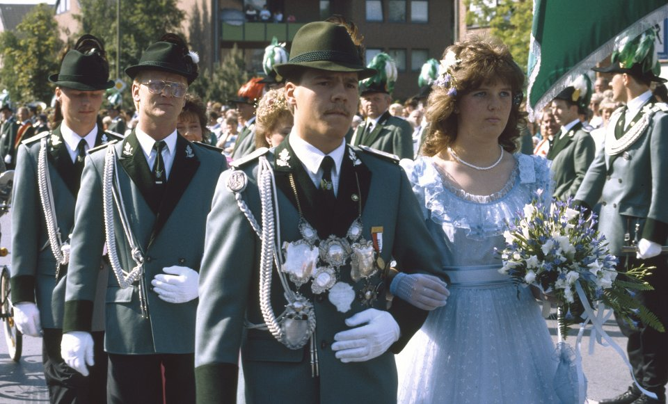 Prinz Bernd Heinen, Minister Ralf Düchting und  Thomas Brockers