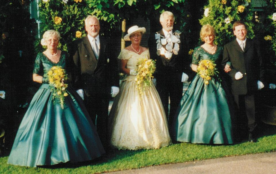 2000 König Hans-Peter Hennekes, Minister Wilfried Hermanns, Werner Zohren