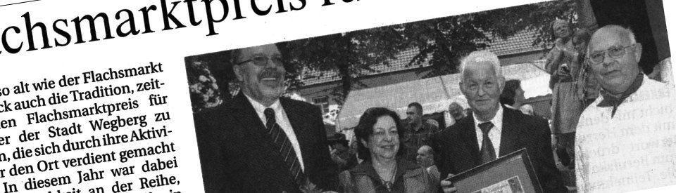 Rheinische Post, 29.09.2008 (Ausschnitt des Presseartikels)