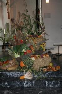 Altarschmuck Erntedankhochamt