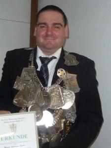 Verleihung des SVK an König Dietmar Kuhn