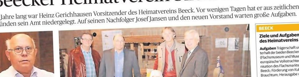 Rheinische Post, 24.09.2013 (Ausschnitt des Presseartikels, Foto Uwe Heldens und Jürgen Laaser)