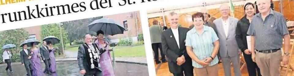 Rheinische Post, 27.08.2013 (Ausschnitt des Presseartikels, Fotos Uwe Heldens)