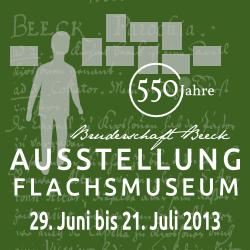 2013 - Ausstellung 550 Jahre - Werbung