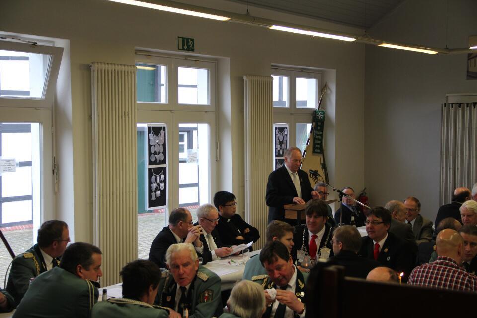 Eröffnung der Versammlung durch unseren Brudermeister