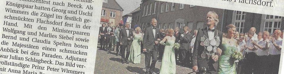 Rheinische Post, 12.06.2014 (Ausschnitt des Presseartikels, Foto  Jürgen Laaser)