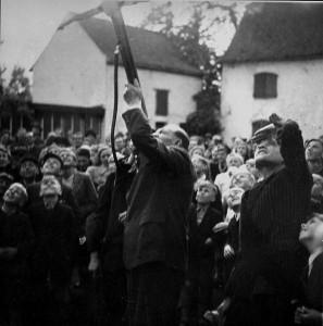 1933 Vogelschuss mit der Armbrust bei Axer