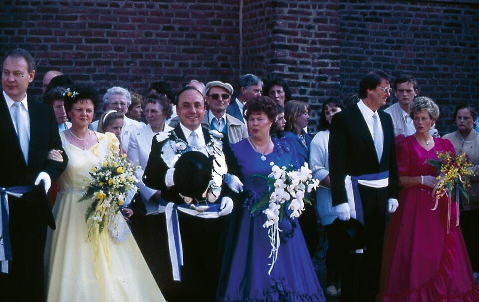 1988 König Johannes Heinen, Minister Willi Engels, Peter Feiter