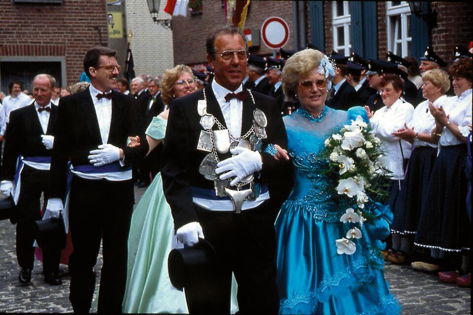 1993 König Erwin Lechner, Minister Heinz Nießen, Lambert Pappers