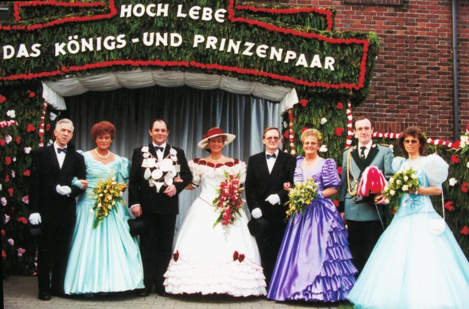 1994 König Josef Jöcken, Minister Toni Viethen, Egon Hintsches
