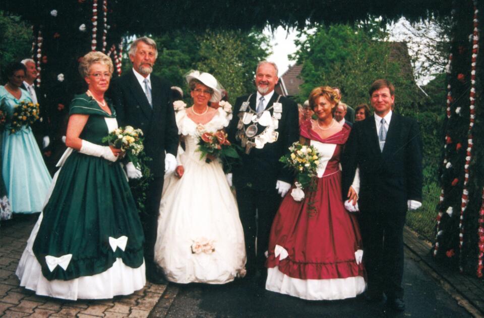 1997 Wilfried Hermanns, Minister Hans-Peter Hennekes, Werner Zohren