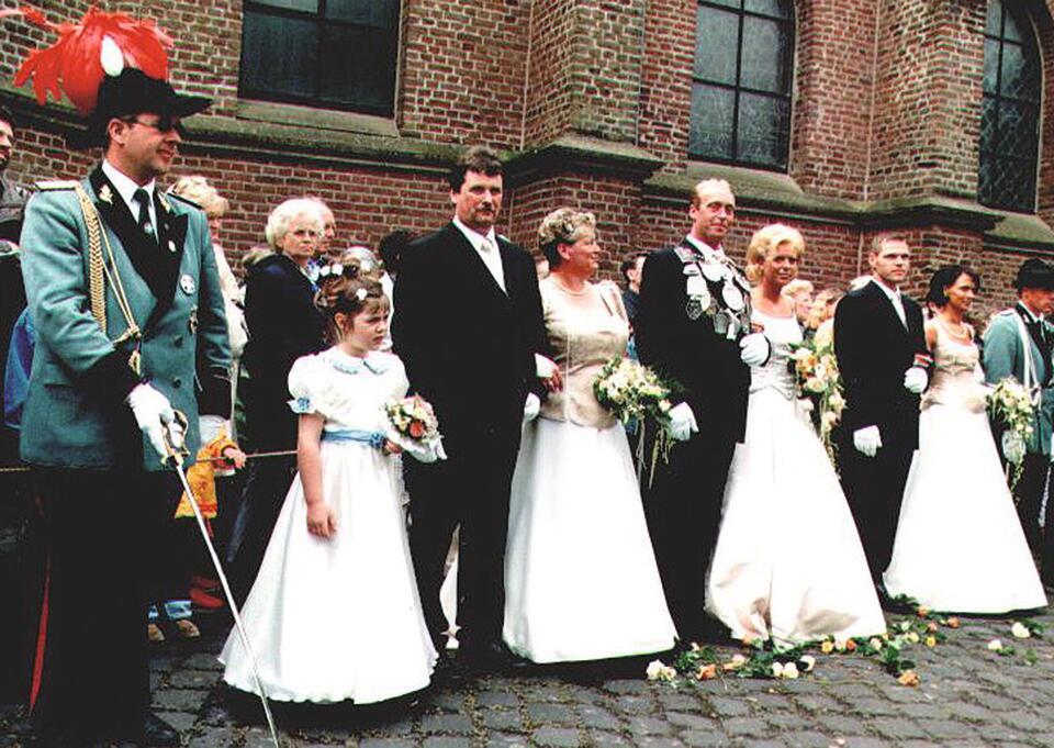 2001 König Johannes Olland, Minister Hermann-Josef Jennissen, Wolfgang Buchkremer