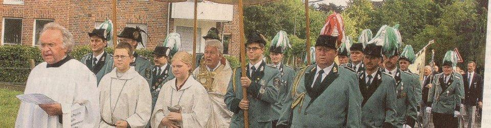 Rheinische Post, 29.06.2004 (Ausschnitt des Presseartikels, Foto Jürgen Laaser)