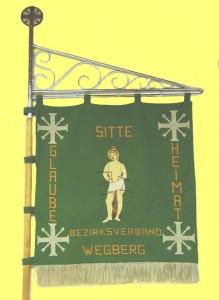 Standarte des Bezirksverbandes Wegberg