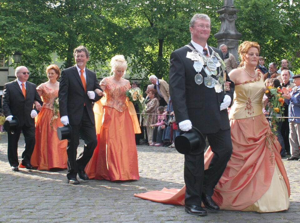 2005 König Wolfgang Radermacher, Minister Kurt Hütten, Kurt Esser