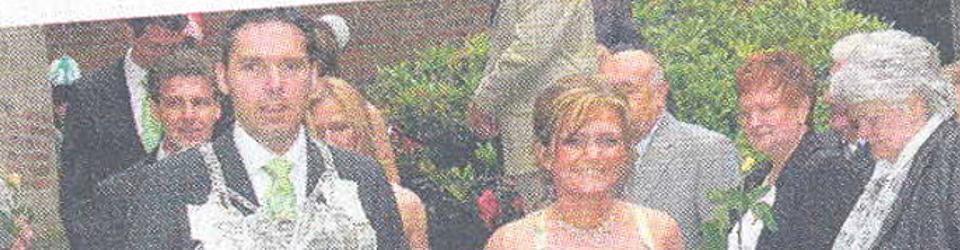 Rheinische Post, 07.06.2006 (Ausschnitt des Presseartikels, Foto Jürgen Laaser)