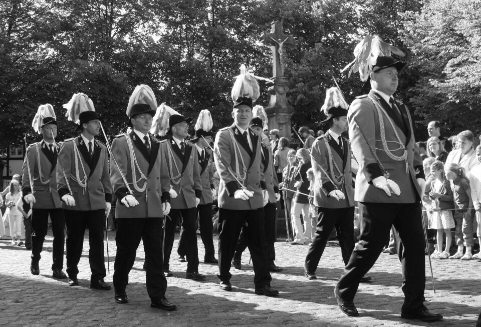 Offiziersführer Bernd Schreinemacher; Offiziere Hermann-Josef Brunen, Peter Gerhards, Andreas Holtmann, Volker Krappen, Edmund Mertens, Jörg Padtberg, Simon Pape, Frank Peters, Werner Pohl