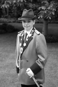 Bezirksschülerprinz Alexander Winkens