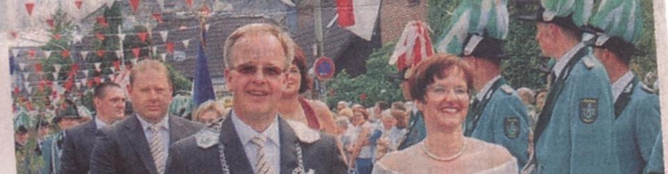 Rheinische Post, 03.06.2009 (Ausschnitt des Presseartikels, Foto Günter Passage)