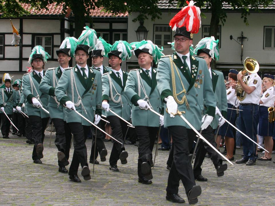 Offiziersführer Marco Cook, Offiziere Christian Althoff, Julius	Baltes, Hermann-Josef Brunen, Thorsten Grabowski, Patrick Hamacher, Steffen Hütten, Volker Krappen, Wilfried Lemmen, Heribert Pranschke