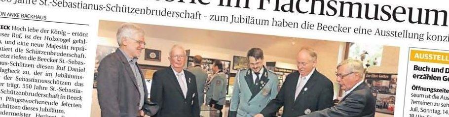Rheinische Post, 01.07.2013 (Ausschnitt des Presseartikels von Anne Backhaus, Foto Jürgen Laaser)