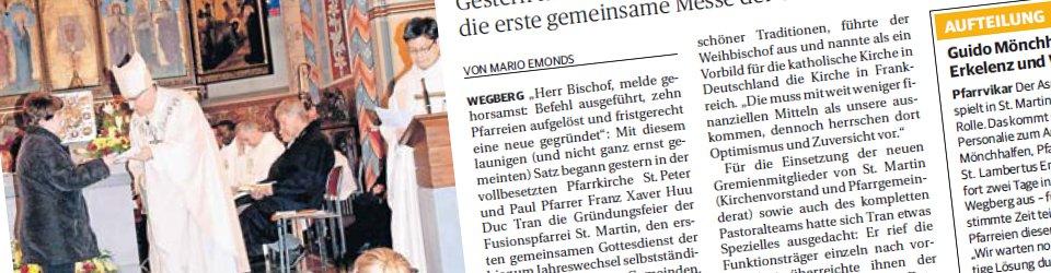 Rheinische Post, 02.07.2013 (Ausschnitt des Presseartikels von Mario Emonds, Foto Renate Resch-Rüffer)