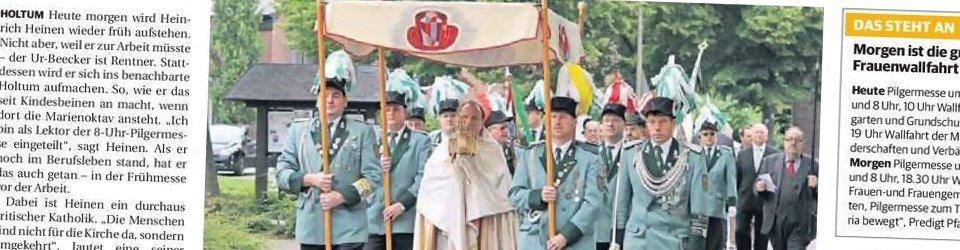 Rheinische Post, 02.07.2013 (Ausschnitt des Presseartikels von Mario Emonds, Foto Jürgen Laaser)