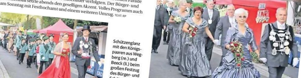 Rheinische Post, 02.07.2013 (Ausschnitt des Presseartikels, Foto Uwe Heldens)