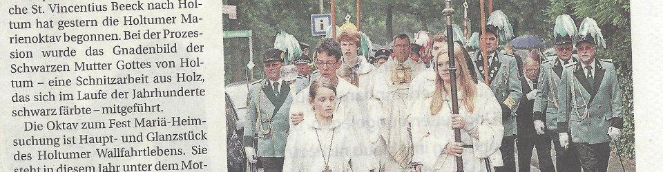 Rheinische Post, 30.06.2014 (Ausschnitt des Presseartikels, Archivfoto  Jürgen Laaser)
