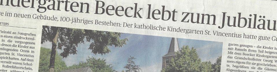 Rheinische Post, 19.05.2014 (Ausschnitt des Presseartikels von Nicole Peters, Foto Jürgen Laaser)