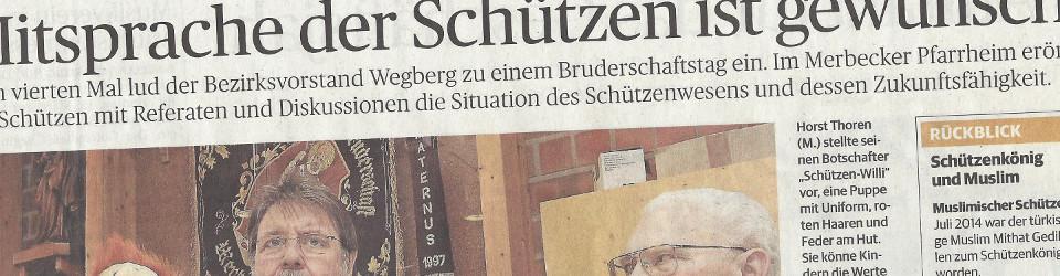 Rheinische Post, 09.03.2015 (Ausschnitt des Presseartikels Nicole Peters, Foto Jürgen Laaser)