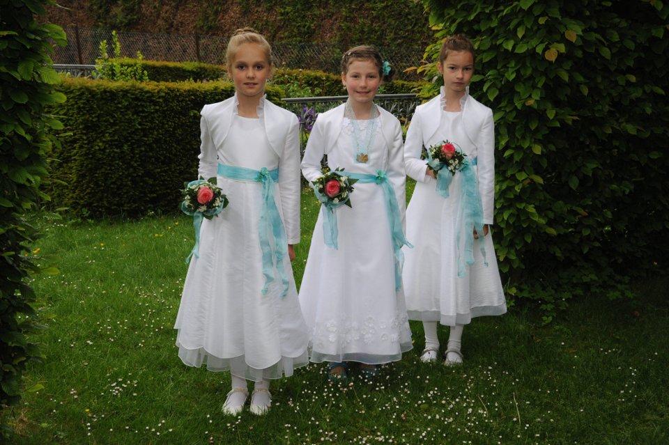 Herbstkönigin Sarah Welters, Ministerinnen Nina Wirtz und Mia Wirtz