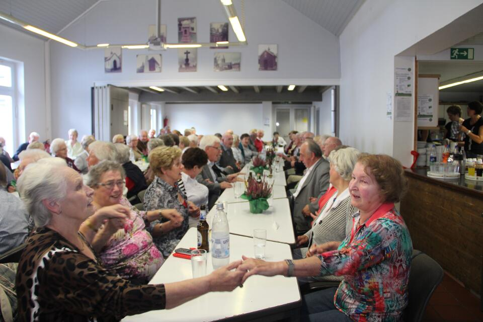 Ein Blick in den Saal beim Seniorennachmittag